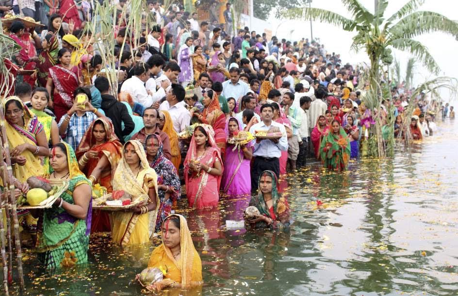 Festival Chhath Puja en India