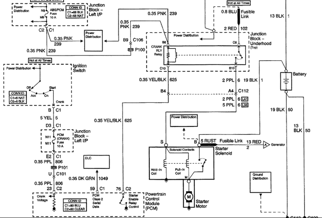Schematics And Diagrams  2004 Chevy Monte Carlo  It Cranks But Not Start