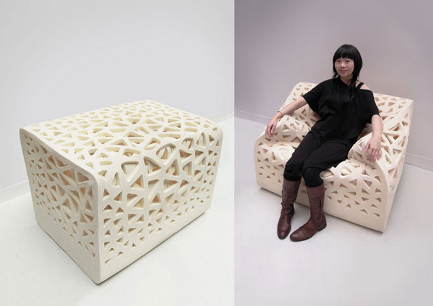 Sillon Breathing, Yu-Ying Wu, decoracion, muebles