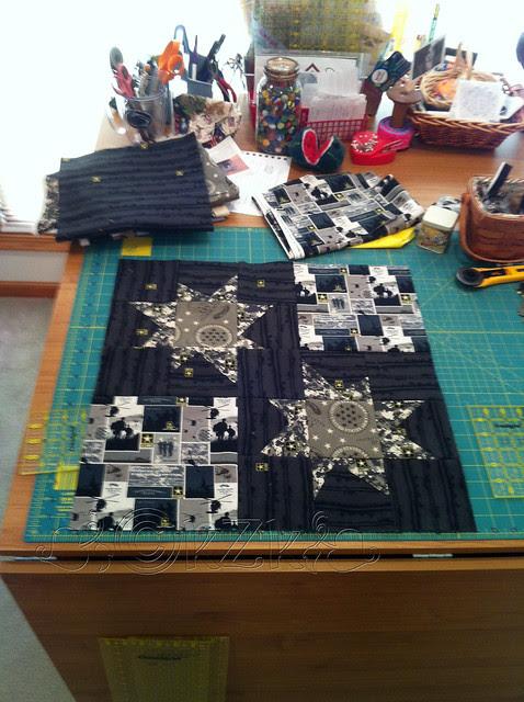 IMG_5288 Layout for Wonky Star blocks