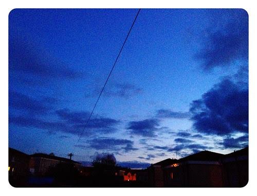 Sun has set