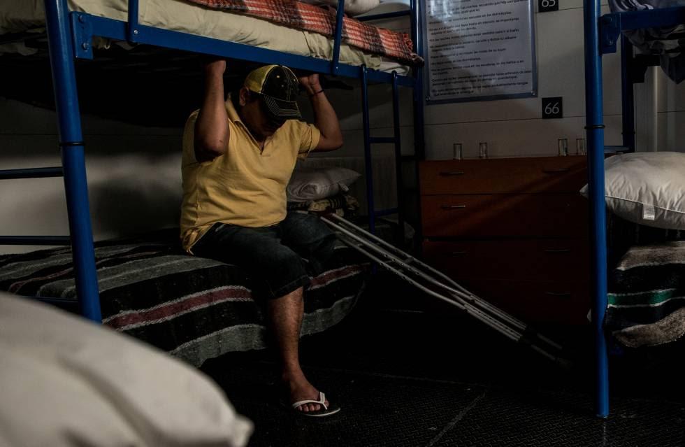 Migrante hondureño que recibió un disparo en Guadalajara