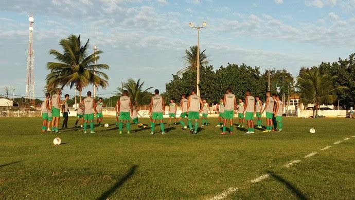 RN - Alecrim treino Conjunto Parque dos Coqueiros (Foto: Jocaff Souza/GloboEsporte.com)