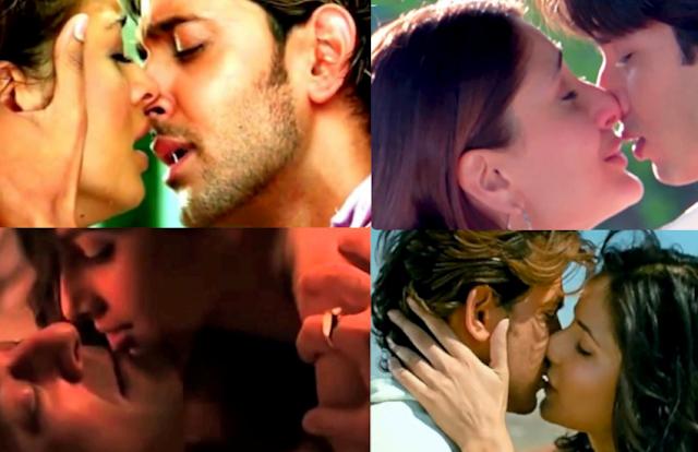 बॉलीवुड फिल्मों में के वे 10 किसिंग सीन, जो रोमांटिक होने के साथ ही 'हॉट एंड बोल्ड' भी हैं