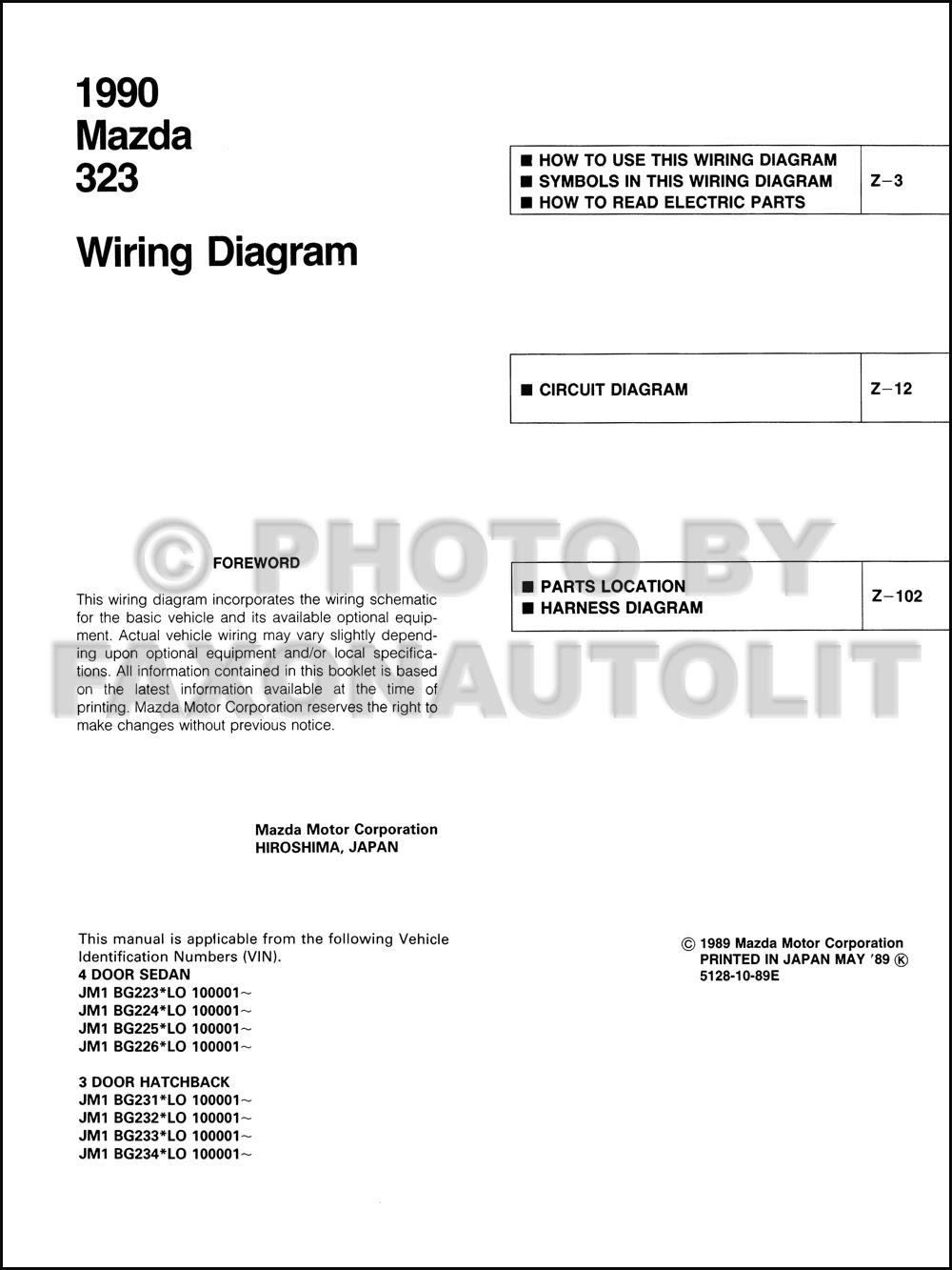 Diagram 1995 Mazda 323 And Protege Wiring Diagram Manual Original Full Version Hd Quality Manual Original Diagrams4u Siggy2000 De