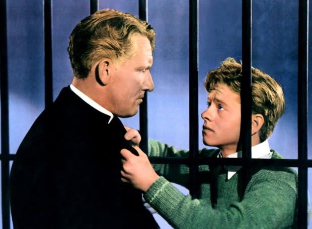 Mickey Rooney and Spencer Tracey