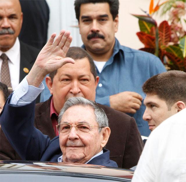 Castro-Maduro-Chavez