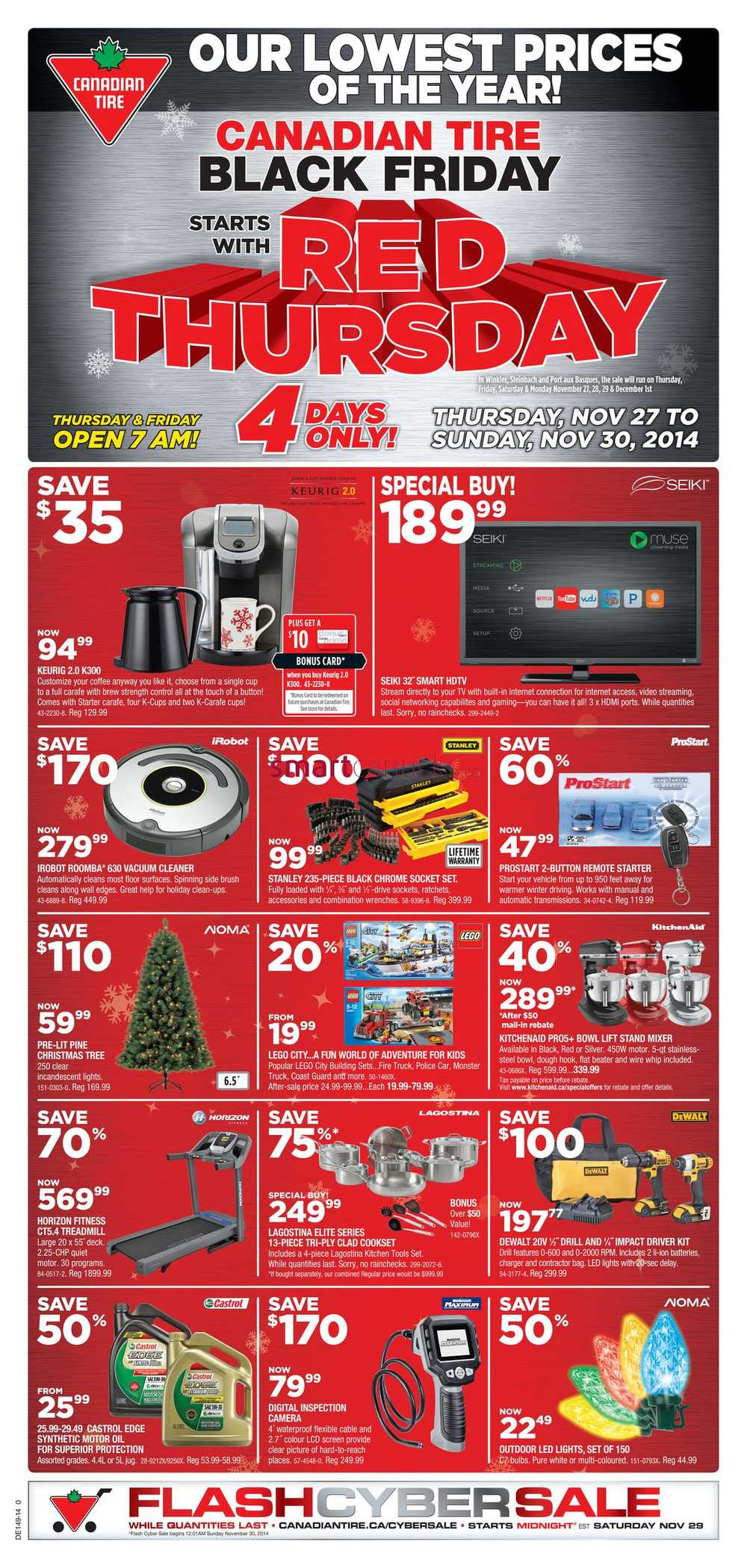 Canadian Tire Black Friday Deals  Off