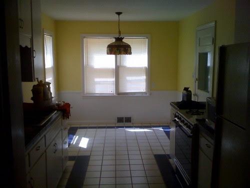 Kitchen from front door