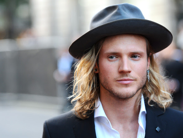 Dougie Poynter attends the GQ Men of the Year awards at The Royal Opera House on September 2, 2014 in London, England.