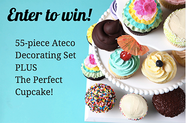 Ateco Stainless Steel Decorating Set and The Perfect Cupcake Class Giveaway