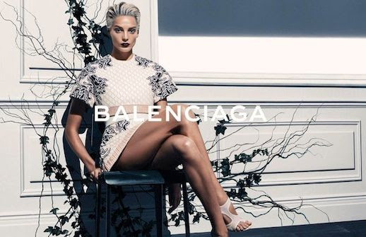 LE FASHION BLOG BALENCIAGA SS 2014 AD CAMPAIGN MODEL DARIA WERBOWY BY STEVEN KLEIN SPRING SUMMER COLLECTION SHORT BLEACH BLOND HAIR PIXIE CUT SLICKED BACK DARK VAMPY LIPSTICK FLORAL EMBROIDERED SLEEVES VOLUME BIG SLEEVE SKIRT DRESS CUT OUT WHITE NUDE SANDALS HEELS 7 photo LEFASHIONBLOGBALENCIAGASS2014ADCAMPAIGNDARIAWERBOWYBYSTEVENKLEIN7.jpg