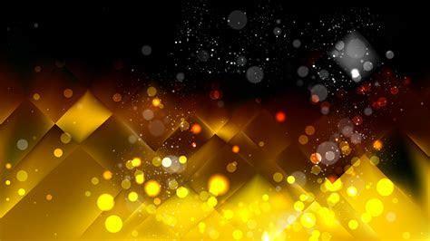 Gold Bokeh Lights Background