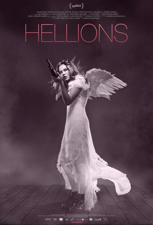 Risultati immagini per hellions film poster