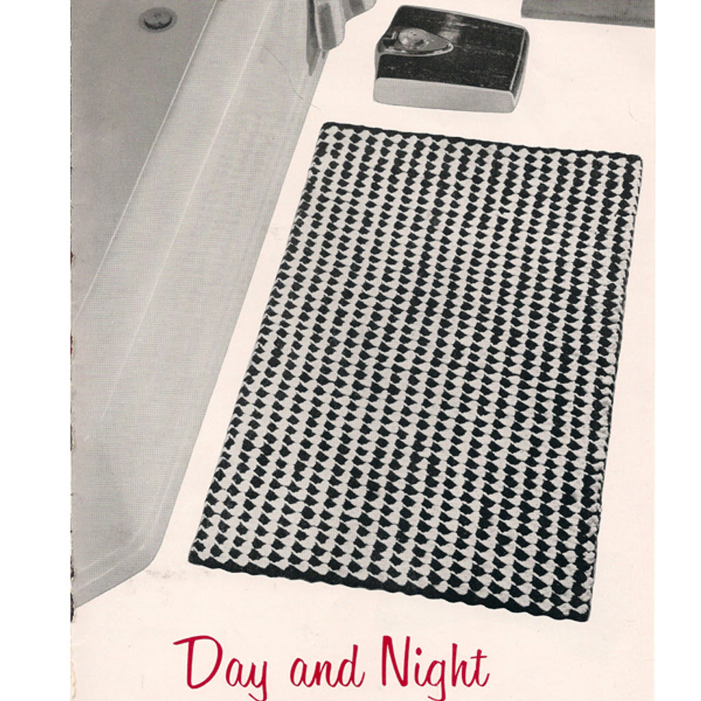 Easy Crochet Rug, Free Pattern