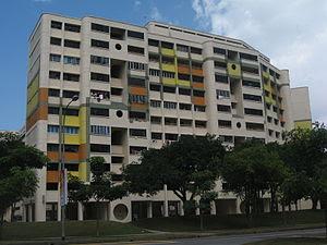 HDB flats in Hougang, Singapore.