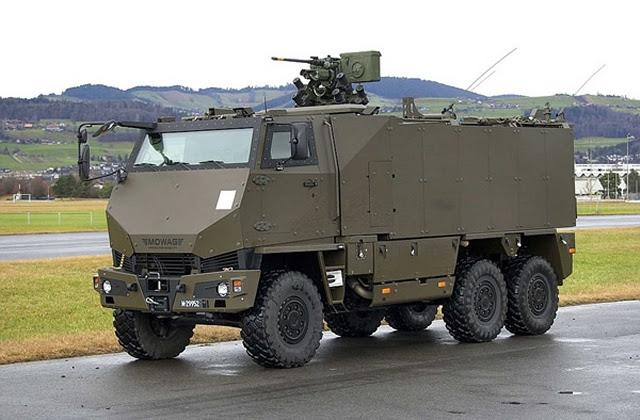 En diciembre de 2013, Sistemas de General Dynamics European Land (GDELS), una unidad de negocio de General Dynamics Corporation (NYSE: GD), se adjudicó un contrato por el Ejército suizo por 130 DURO blindados de transporte de personal (GMTF). Sistemas European Land General Dynamics entregado previamente 290 vehículos DURO GMTF para el ejército suizo durante el período de 2008 a 2010.