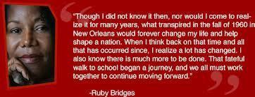 Ruby Bridges Flashcards Easy Notecards
