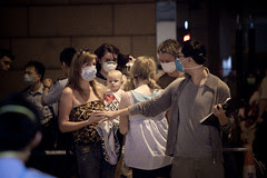 First case of swine flu in Hong Kong by H.L.Tam