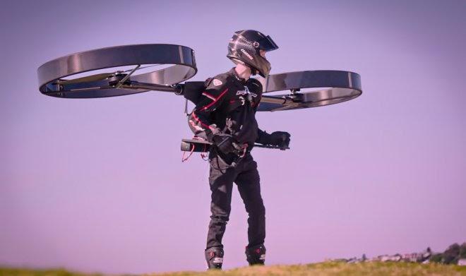 В Австралии разработали «персональный» электрический вертолет Copterpack