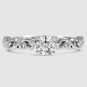 Ivy Ring   Petite Ivy Scroll   Brilliant Earth