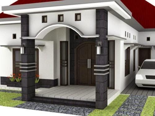 86+ Gambar Rumah Dengan Teras Batu Alam Gratis Terbaru