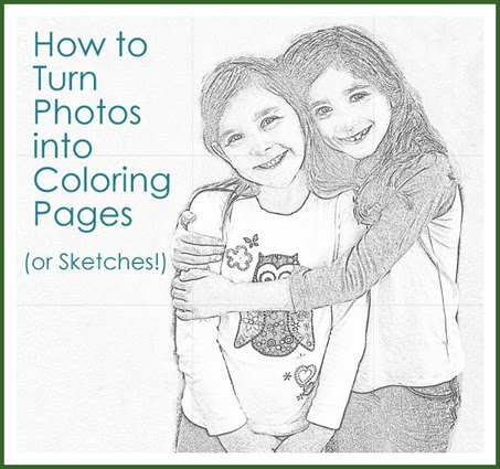 From Photos to Coloring Pages (or Sketches ...