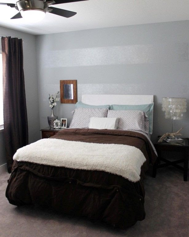 Small Bedroom Design Trends With Accent Wall Color Ideas ...