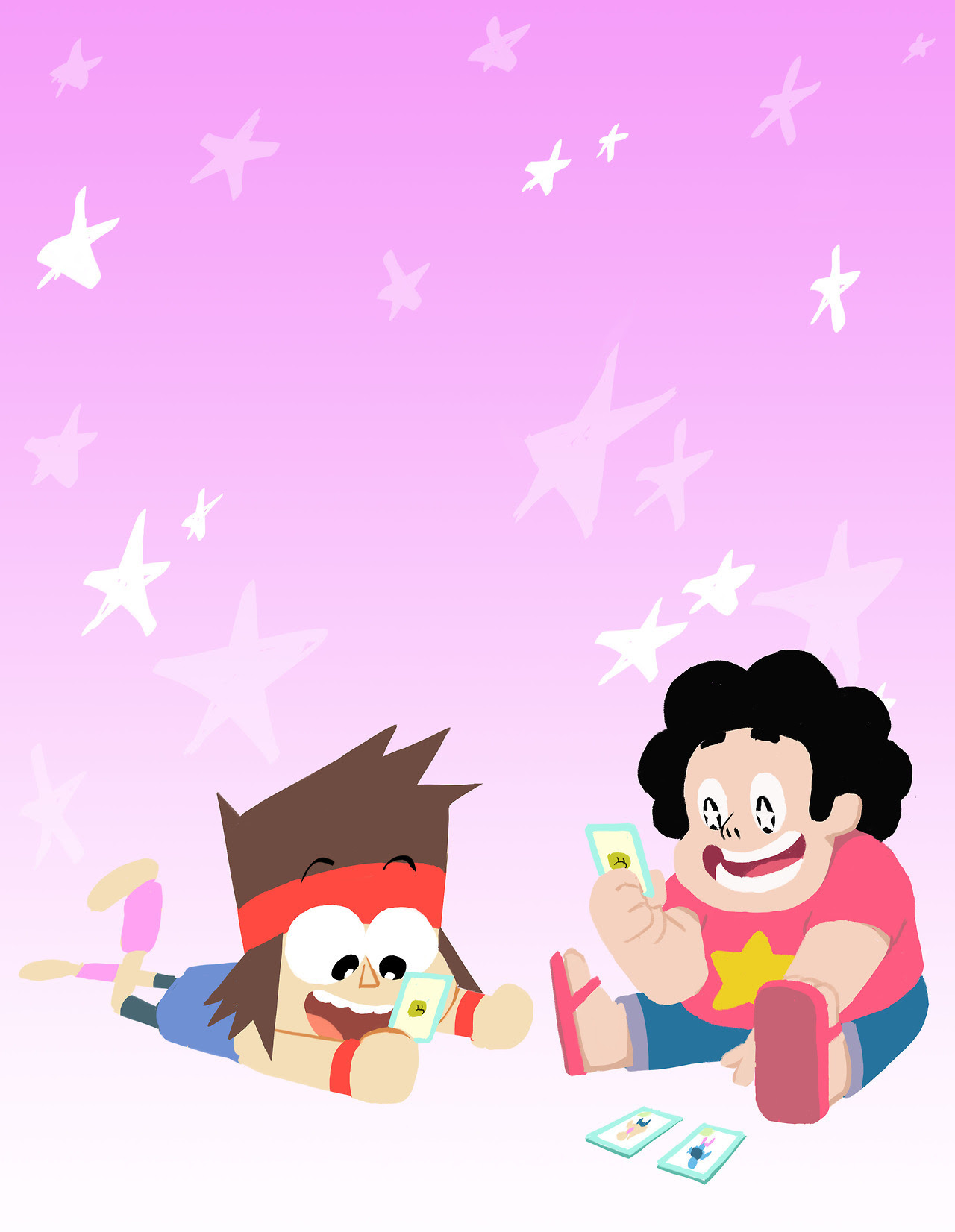I'm pretty sure KO and Steven would be great friends :)