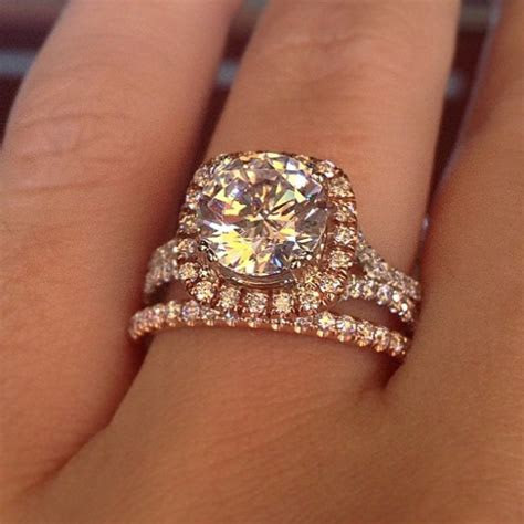 Top 10 Soft Square Halo Engagement Rings   Designers