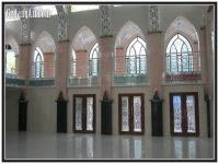 ornamen interior masjid
