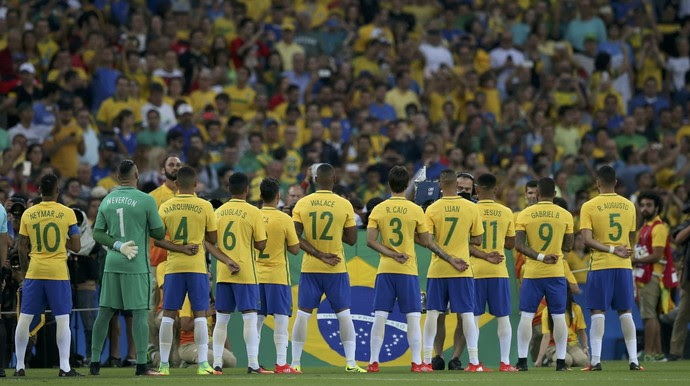Brasil Alemanha futebol masculino Olimpíada Rio 2016 (Foto: Reuters)