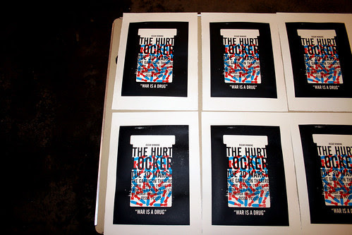The Hurt Locker - Screenprint