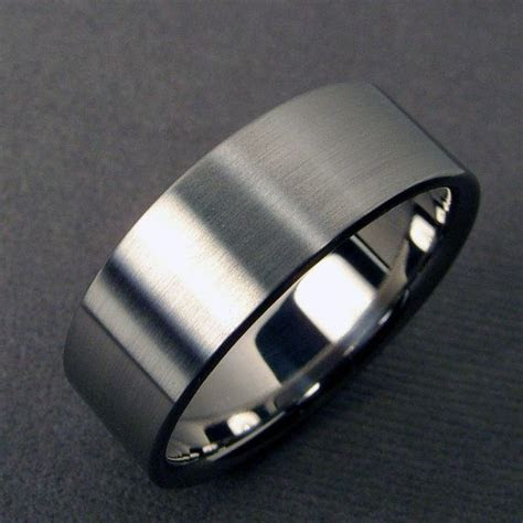 1000  ideas about Titanium Wedding Bands on Pinterest