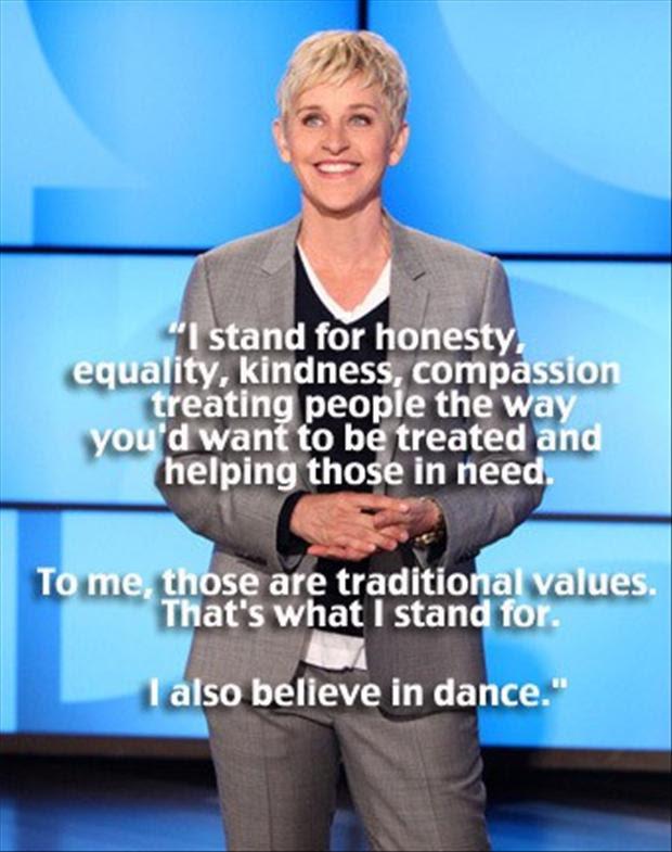 Ellen Degeneres Inspirational Quotes. QuotesGram