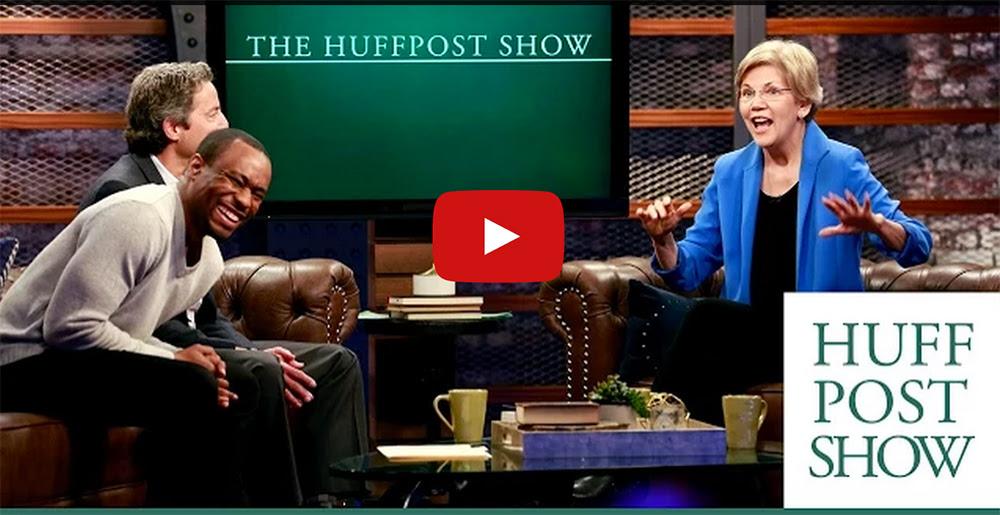 Elizabeth Warren on the HuffPo Show