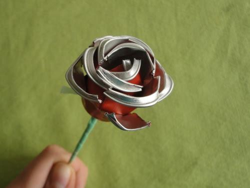 DIY tutorial how to make a rose