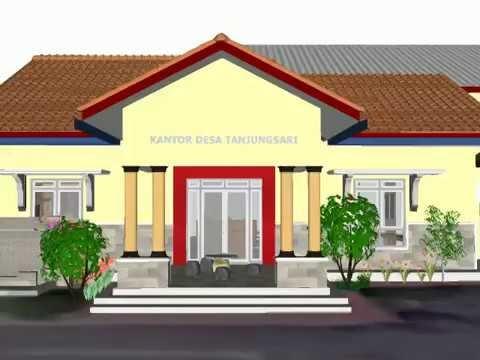 Contoh Gambar Shunda Plafon  478 ide desain kantor desa terlihat keren model rumah