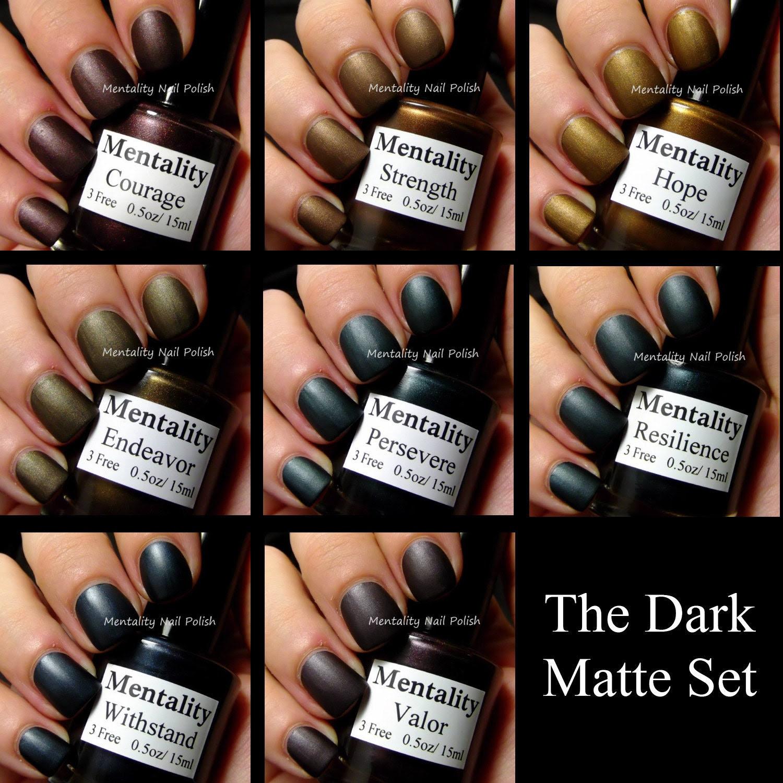 The Dark Matte Collection 8 Piece Set