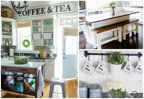 diy farmhouse kitchen ideas   fixer upper home