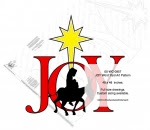 JOY Word Yard Art Woodworking Pattern - fee plans from WoodworkersWorkshop® Online Store - Joy,Mary,donkey.mule,baby Jesus,silhouettes,road to Bethlehem,Christmas,nativity,yard art,painting wood crafts,scrollsawing patterns,drawings,plywood,plywoodworking plans,woodworkers projects,workshop