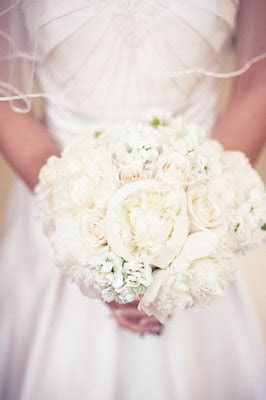 Festivities designed a heavenly bridal bouquet of white