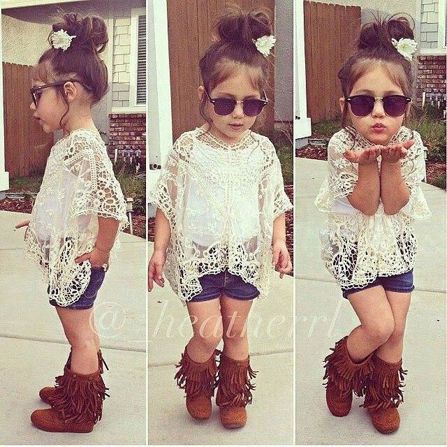 I wish I had a little girl so I could dress her like this!