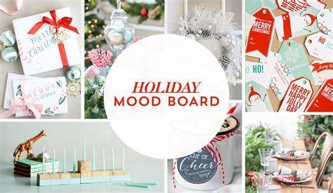 Ho Ho Ho Holiday Party Mood Board   Evite