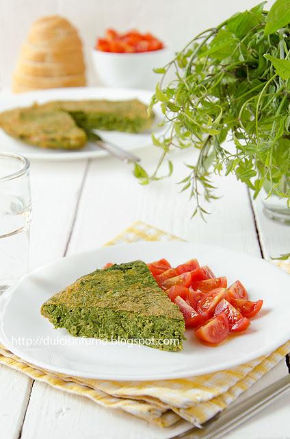 Frittata di Erbe Selvatiche-Wild Herb Omelette