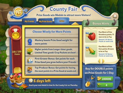 County Fair - Rules NEW