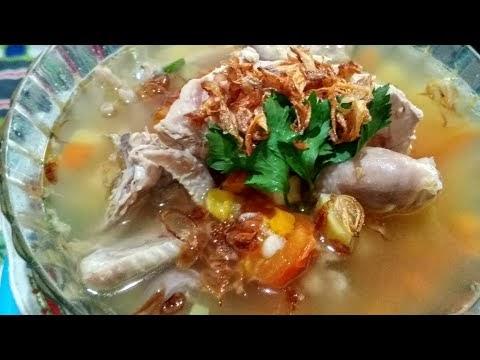 Resepi Sop Ayam Kampung Menyihatkan