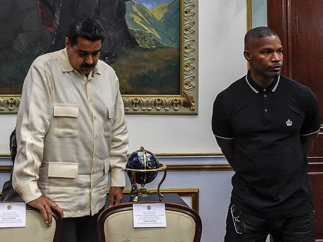 Image result for jamie foxx with maduro