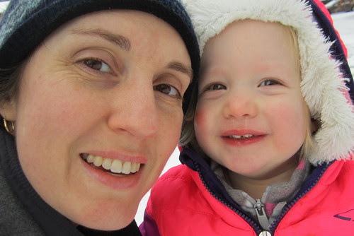 mama & snow baby