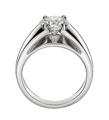 www.bulgari.com, BVLGARI Marryme ring in platinum with